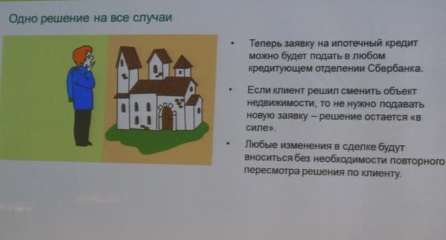 заявки на ипотеку Сбербанка