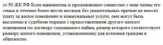 ст 90 жк рф habrealty.ru