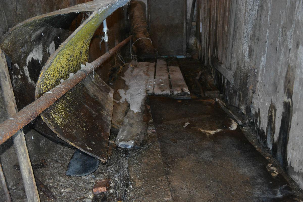 сырость в подвале дома УК Сервис-Центр