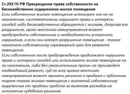статья 293 ГК РФ