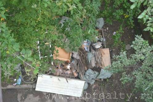 мусор подвала многоквартирного дома Хабаровск