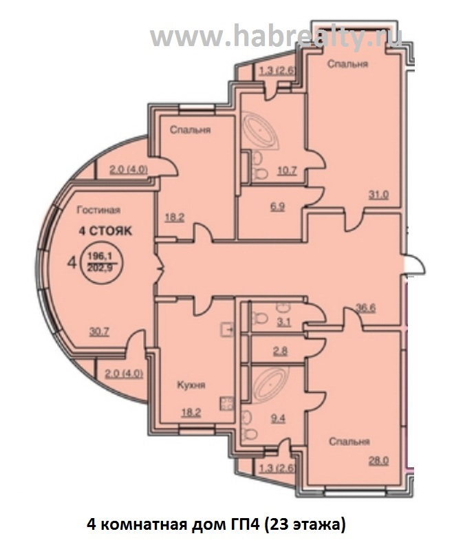 жилой комплекс амурские зори на кавказской планировка 4 комнатная