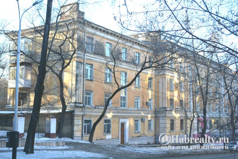 4-этажные сталинские дома фото
