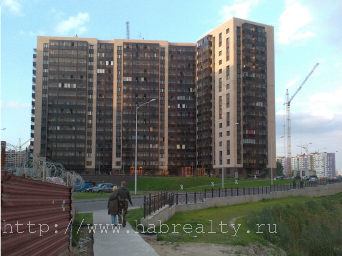 Строящееся жилье у метро девяткино спб