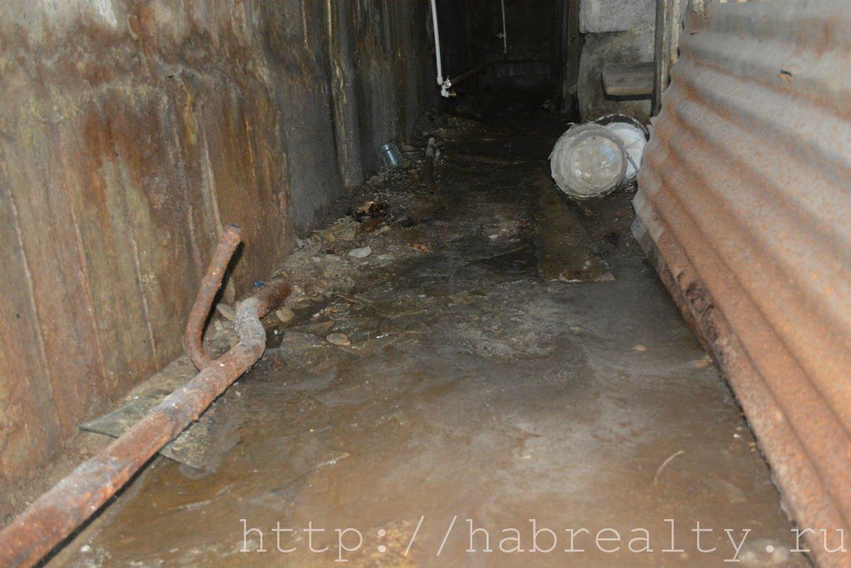ужасный подвал Фрунзе 58 УК Сервис-Центр