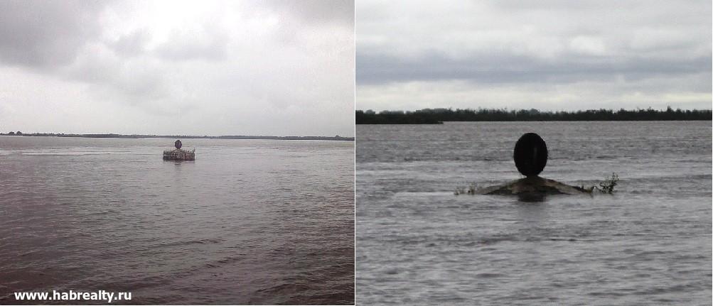 Паводок на Амуре и уровень воды