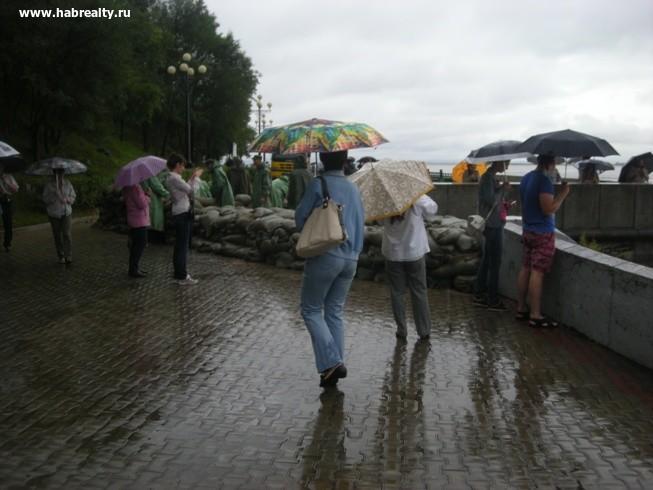 Паводок на Амуре и уровень воды3
