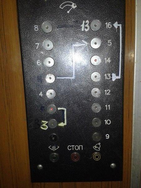 лифт кнопки схема прикольное фото